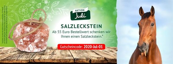 Lexa Gutscheincode im Juli Salzleckstein gratis
