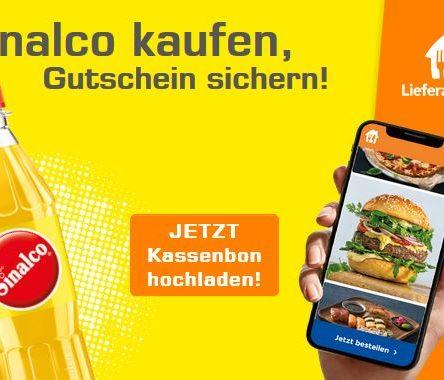 Sinalco kaufen und 5 € Lieferando-Gutschein sichern + Gewinnspiel