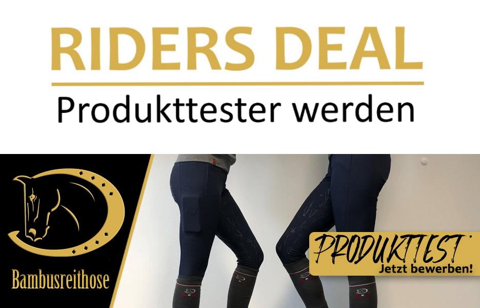 Riders Deal sucht Produkttester für RidersChoice Bambusreithose