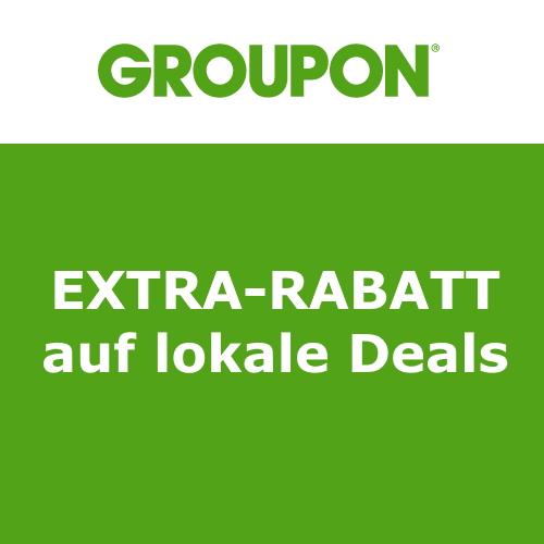 Groupon Extra-Rabatt auf lokale Deals