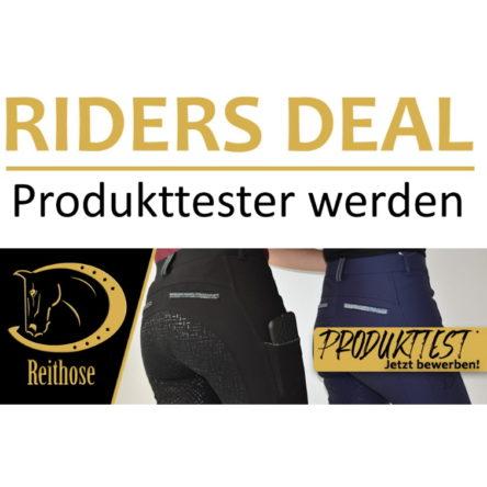 RidersDeal sucht 5 Produkttesterinnen für RidersChoice Reithose Glitter Design