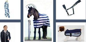 HorSeven 3. Preis Horseware Gewinner-Set »Navy« 7-teiliges Set im Wert von € 715,-