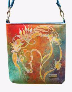 Handtasche Fantasy Horse Pferde Print Rainbow