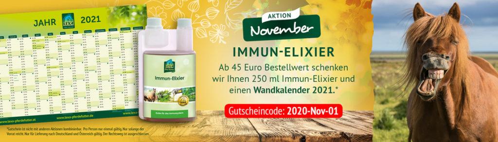 LEXA Pferdefutter - Monatsaktion November