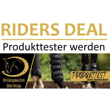 RidersDeal sucht Produkttester für Dressurgamaschen