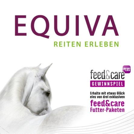 EQUIVA verlost 3 feed&care Pferdefutter-Pakete