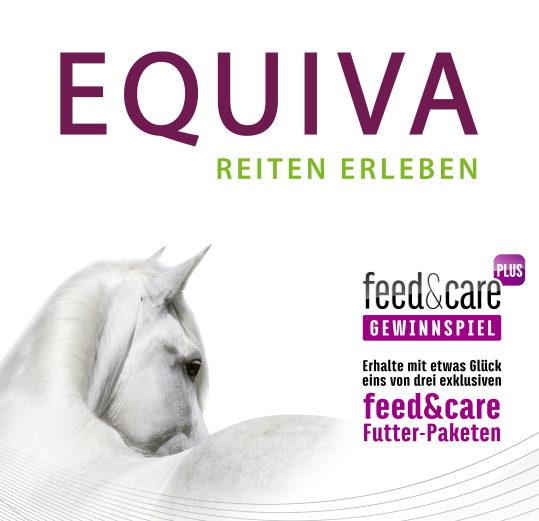 EQUIVA Gewinnspiel feed&care Pferdefutter Paket