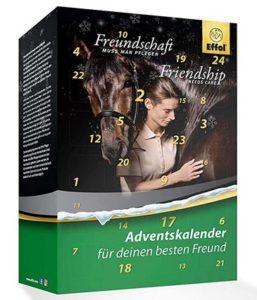 Adventskalender Effol Pflegeprodukte fürs Pferd