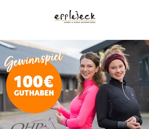 Epplejeck Gewinnspiel QHP 100 Euro Gutschein