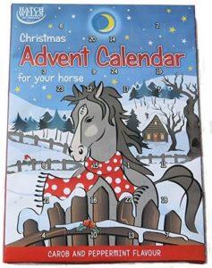 Hatchwells Adventkskalender mit Pferdeleckerlies