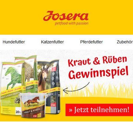JOSERA Gewinnspiel: #meinkrautundruebenpferd des Monats