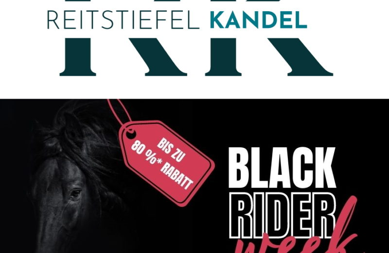 Black Rider Week Reitstiefel Kandel