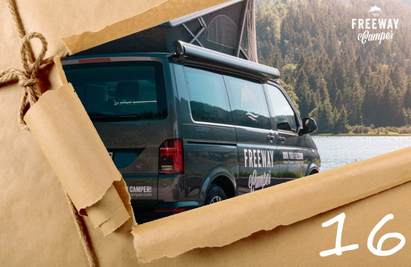 16. Dezember 2020 Adventskalender Freeway Camper