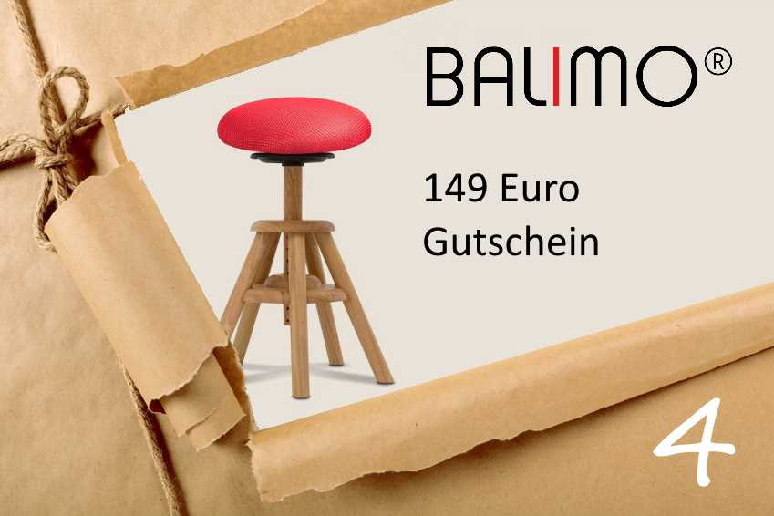 BALIMO Adventskalender Türchen Nr. 4 Gutschein