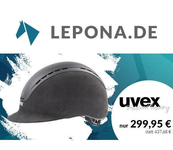 Lepona Sale UVEX Reithelm suxxeed luxury quadratisch