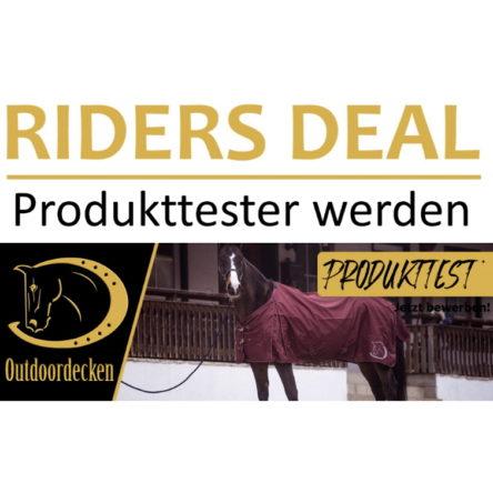RidersDeal sucht 3 Produkttester für RidersChoice Outdoordecken