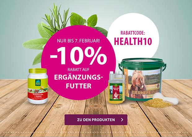 EQUIVA - 10 % Rabatt auf Ergänzungsfutter