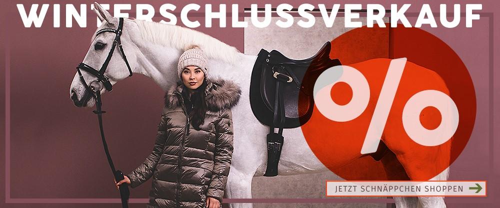 Winterschlussverkauf Horse-Shop Landenhausen