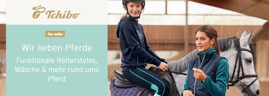 Reitsachen bei Tchibo: Wir lieben Pferde