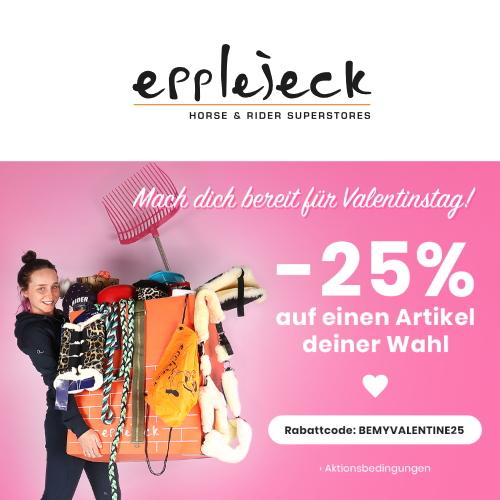 Valentinstag Rabattcode Epplejeck Reitsport