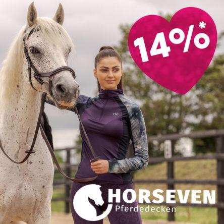 HorSeven Pferdedecken Gutscheincodes: 14 % zum Valentinstag und Bis zu 50 % Rabatt im Sale