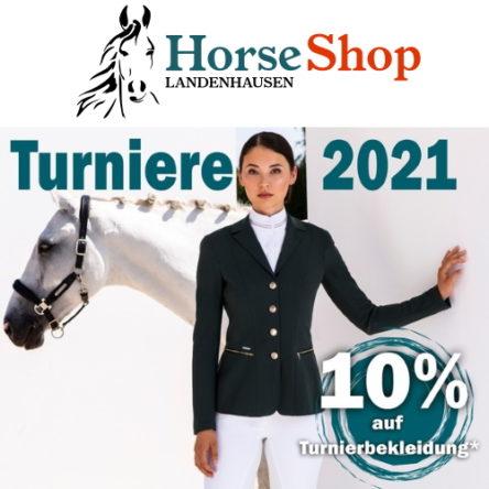 Horse Shop Landenhausen Gutscheincode: 10 % Rabatt auf Turnierbekleidung