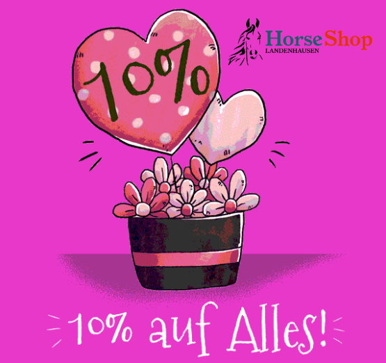 Horse-Shop Gutscheincode zum Valentinstag