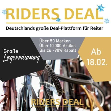 Große Lagerräumung bei RidersDeal: bis zu 90 % Rabatt