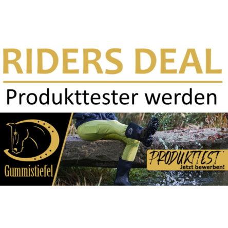 RidersDeal sucht Produkttester/innen für RidersChoice Gummistiefel
