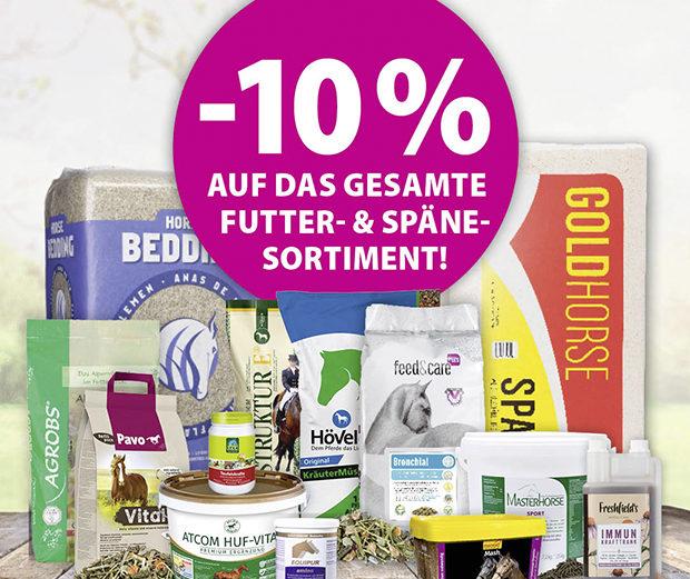 EQUIVA Rabattcode 10 % auf Futter und Späne