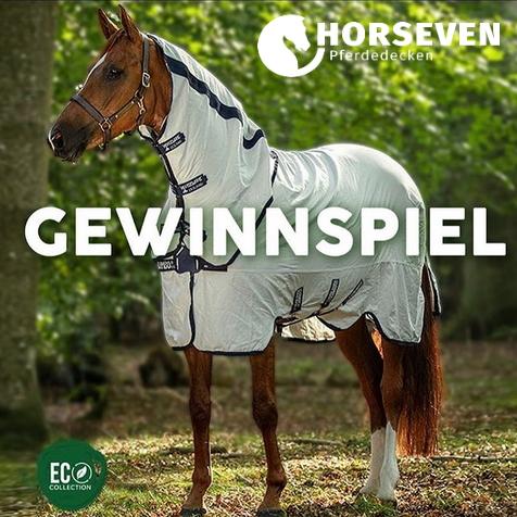 HorSeven Gewinnspiel Horseware Natura Summer Rug