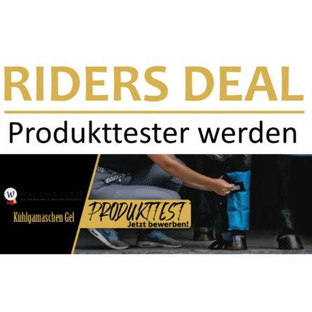 RidersDeal sucht 3 Produkttester/innen für Kühlgamaschen von Waldhausen