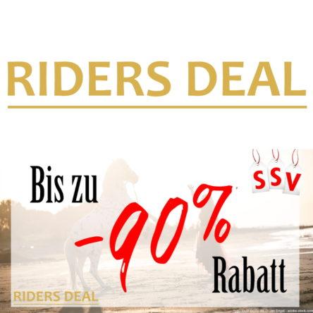RidersDeal SSV: Bis zu 90 % Rabatt