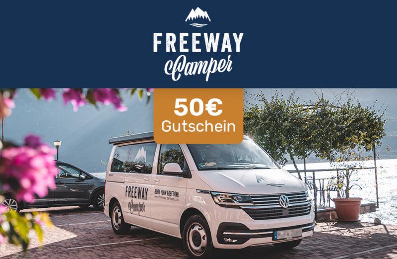 Freeway Camper 50 € Gutscheincode