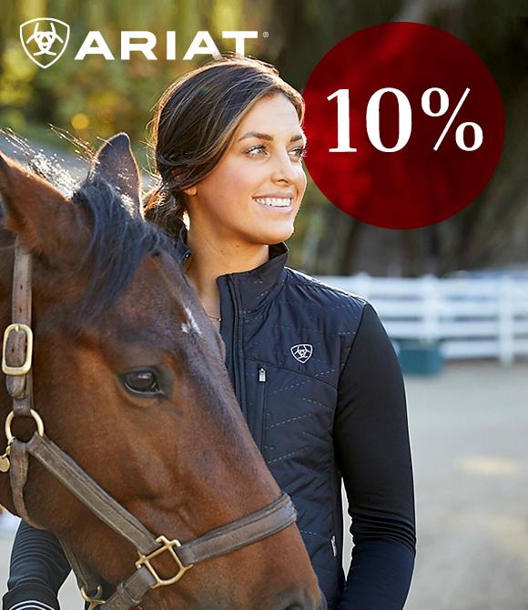 Ariat Gutscheincode 10 % Rabatt bei Horse Shop Landenhausen