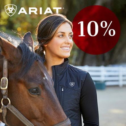 Horse Shop Landenhausen Gutscheincode: 10 % Rabatt auf die Marke ARIAT