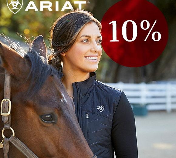 Ariat Gutscheincode 10%Rabatt bei Horse Shop Landenahusen