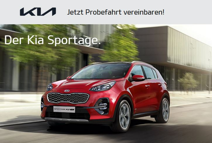 Kia Sportage Probefahrt 2021