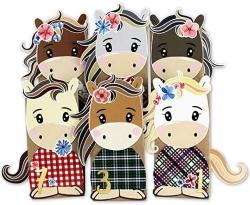 DIY Adventskalender Pferde